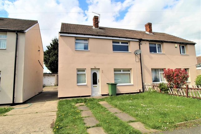 Thumbnail Semi-detached house to rent in Dunster Road, Billingham