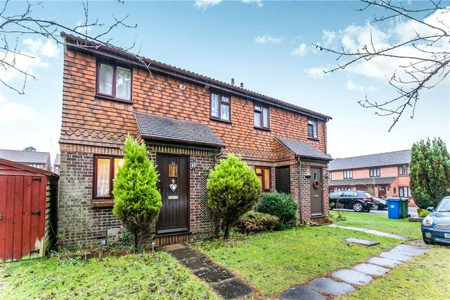Thumbnail Semi-detached house for sale in Charterhouse Close, Forest Park, Bracknell