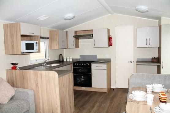 Kitchen Area of Trevelgue, Newquay, Cornwall TR8