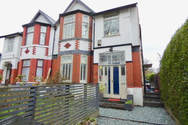 Thumbnail Semi-detached house for sale in Dudley Road, Whalley Range, Manchester