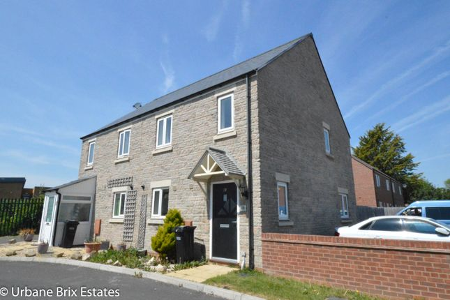 Thumbnail Semi-detached house for sale in Orchid Drive Keynsham, Bristol