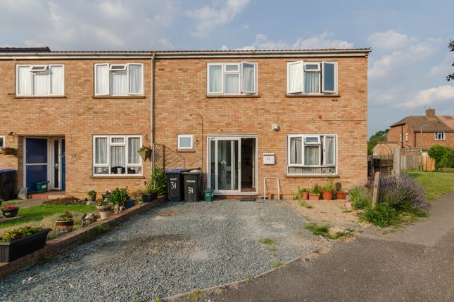 Thumbnail End terrace house for sale in Brookside, Chertsey