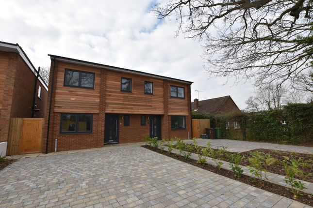 Thumbnail Semi-detached house for sale in Moss Side, Bricket Wood, St. Albans