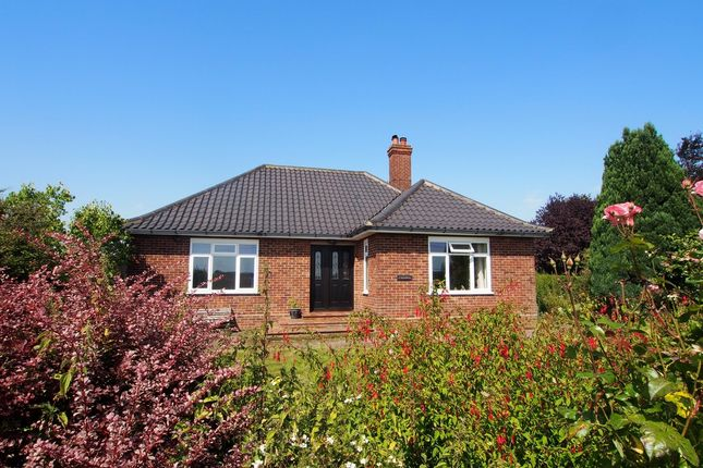 Thumbnail Detached bungalow for sale in Watton Road, Barford, Norwich