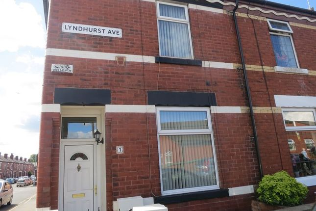 Thumbnail Terraced house to rent in Lyndhurst Avenue, Denton, Manchester