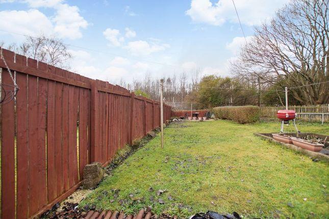 Rear Garden of Inzievar Terrace, Mount Vernon, Glasgow G32
