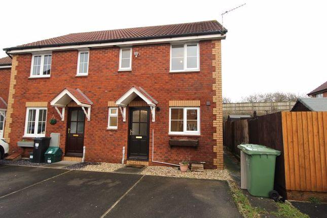 Thumbnail End terrace house for sale in Fennel Drive, Bradley Stoke, Bristol