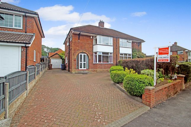 Thumbnail Semi-detached house for sale in Brook Road, Trentham, Stoke-On-Trent