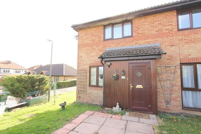 Thumbnail Semi-detached house for sale in Camberley Close, North Cheam, Sutton