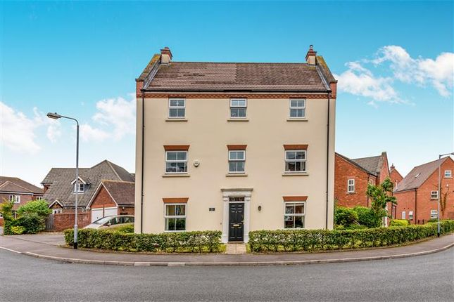 Thumbnail Detached house for sale in Lawrence Way, Lichfield