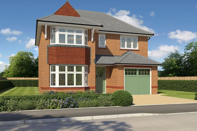 "Thumbnail Detached house for sale in ""Oxford Lifestyle"" at Cot Hill, Llanwern, Newport"