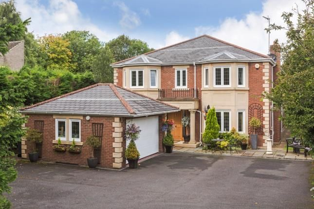 Detached house for sale in Runnymede Road, Darras Hall, Ponteland, Northumberland