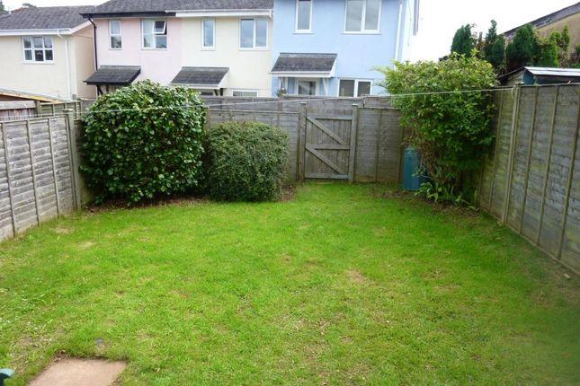 Garden of Bridge Road, Totnes, Devon TQ9