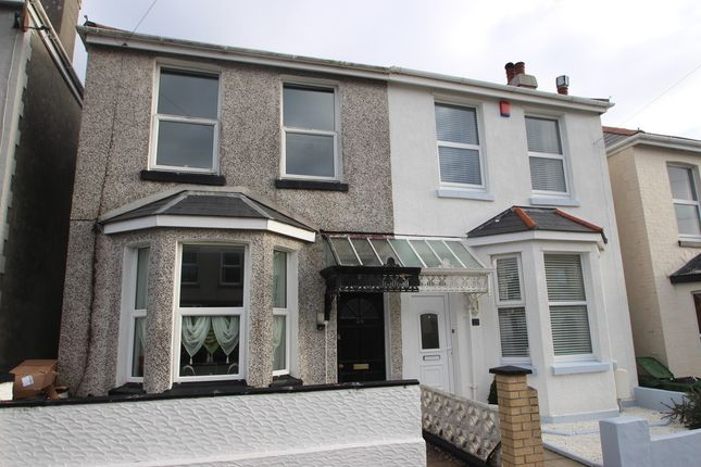 Thumbnail Semi-detached house for sale in Cedarcroft Road, Plymouth