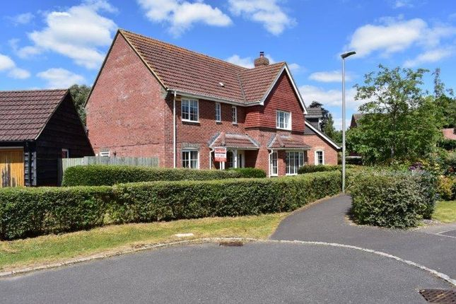 Thumbnail Detached house for sale in Kennedy Meadow, Hungerford