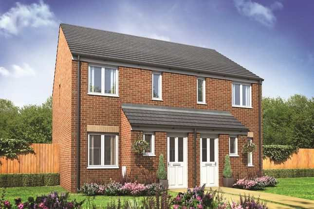 "2 bedroom semi-detached house for sale in ""The Alnwick"" at Fellows Close, Weldon, Corby"