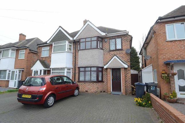 Thumbnail Semi-detached house for sale in Arran Road, Hodge Hill, Birmingham