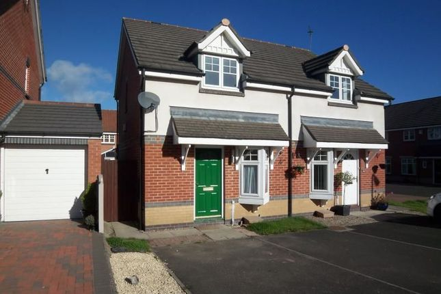 Thumbnail Semi-detached house to rent in Ingleby Way, Blyth