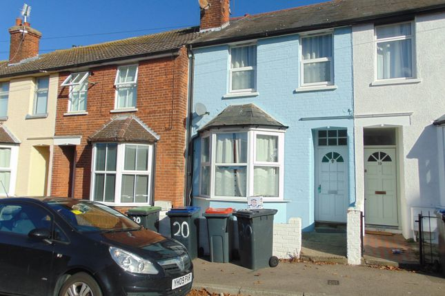 Thumbnail Terraced house to rent in North Holmes Road, Canterbury
