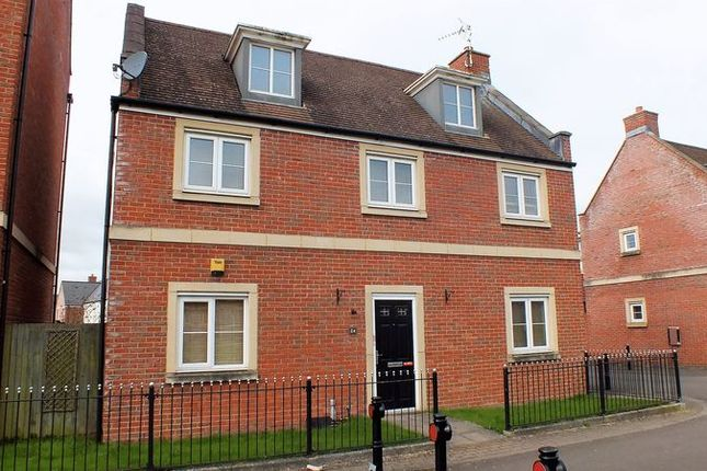 Thumbnail Detached house to rent in Redhouse Gardens, Swindon
