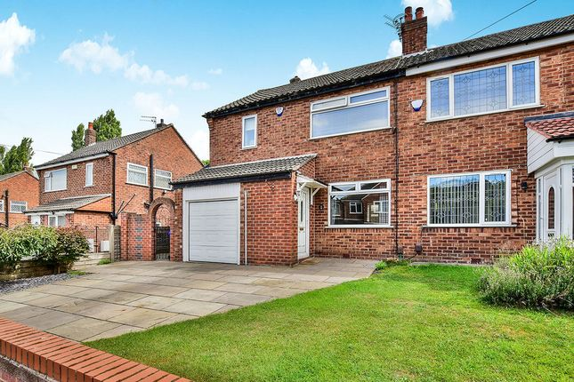 Thumbnail Semi-detached house for sale in Dunnisher Road, Manchester