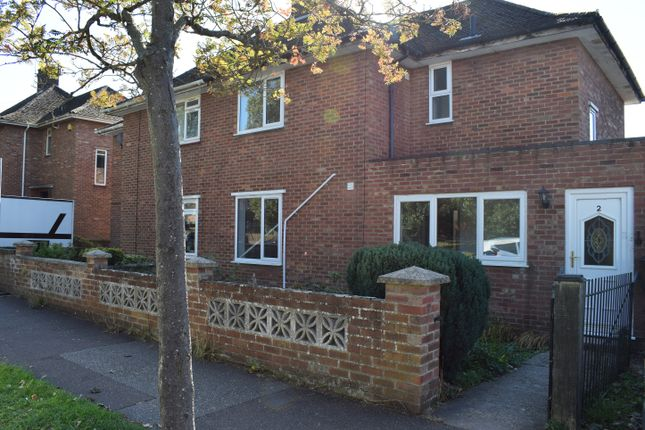 Thumbnail Semi-detached house to rent in Edgeworth Road, Norwich, Norfolk