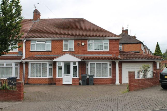 Thumbnail Semi-detached house for sale in Grestone Avenue, Handsworth Wood, Birmingham