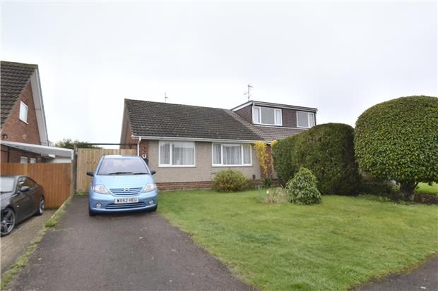 Thumbnail Semi-detached bungalow for sale in Chatsworth Avenue, Tuffley, Gloucester