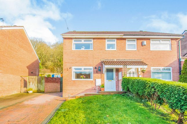 Thumbnail Semi-detached house for sale in Cwrt Yr Ala Road, Cardiff
