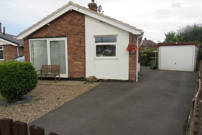 Thumbnail Detached bungalow for sale in Rufford Close, Bilsthorpe, Newark