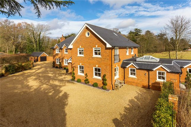 Thumbnail Detached house for sale in Station Road, Chobham, Woking, Surrey