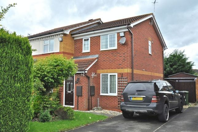 Thumbnail Semi-detached house for sale in Jasmine Walk, Evesham