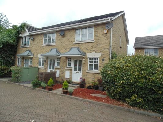 Thumbnail End terrace house for sale in Chestnut Close, Shardeloes Road, London
