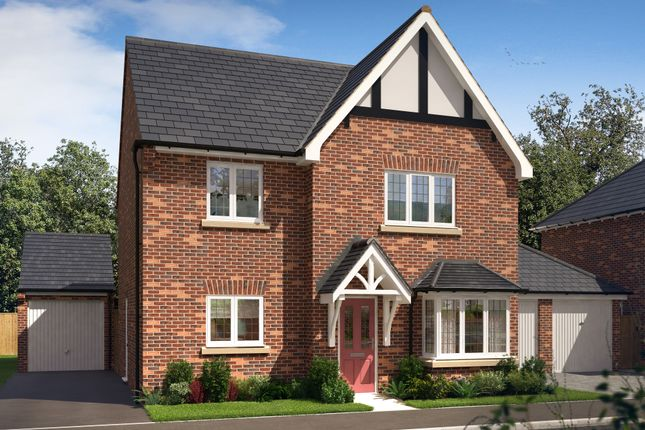 Thumbnail Detached house for sale in Woodgate Drive, Chellaston, Derby