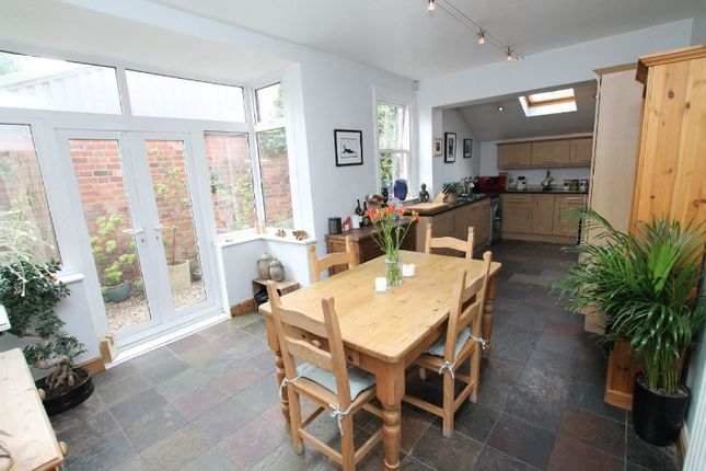 Thumbnail End terrace house for sale in Howard Road, Clarendon Park, Leicester
