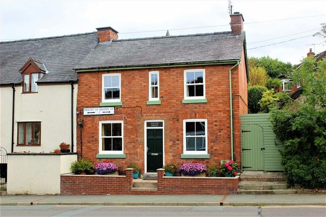 Thumbnail Terraced house for sale in Burton House, 1, Raven Street, Welshpool, Powys