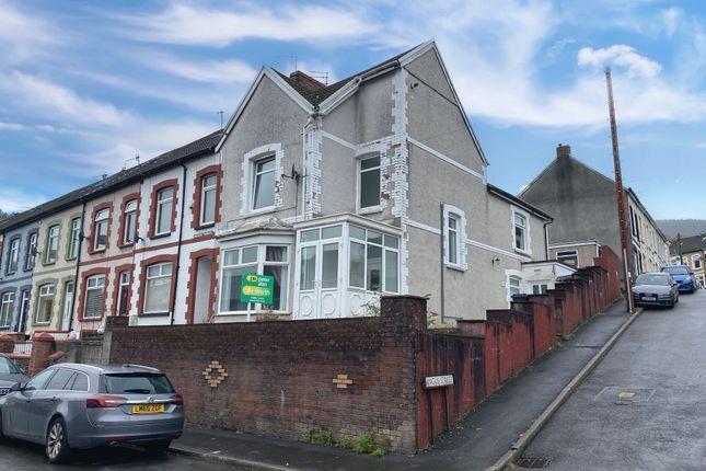 Thumbnail End terrace house for sale in Queens Terrace, Troedyrhiw, Merthyr Tydfil