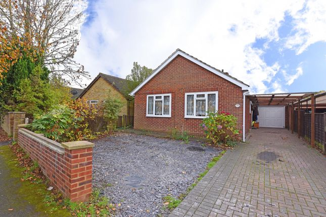 Thumbnail Detached bungalow for sale in Farm View, Yateley