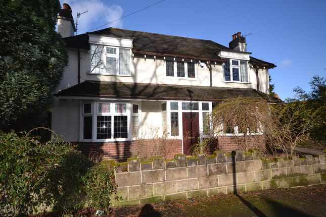 Thumbnail Detached house for sale in Broughton Road, Newcastle-Under-Lyme