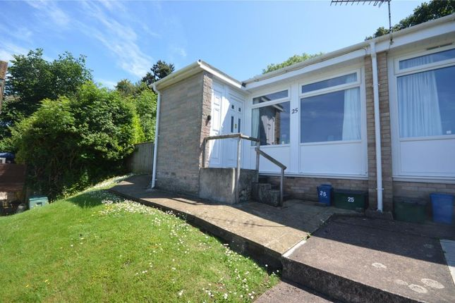 Thumbnail Semi-detached bungalow for sale in Capper Close, Newton Poppleford, Sidmouth, Devon