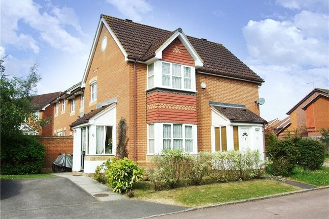 Thumbnail End terrace house to rent in Oswald Close, Warfield, Bracknell, Berkshire