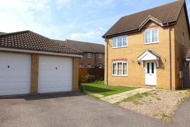 Thumbnail Detached house for sale in Embla Close, Bedford, Bedfordshire