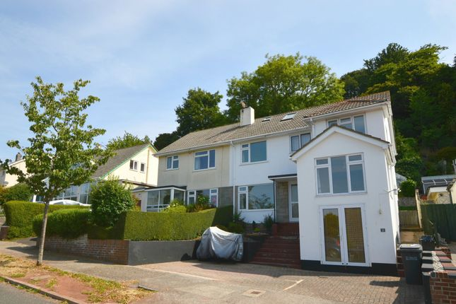 Thumbnail Semi-detached house to rent in Padacre Road, Torquay