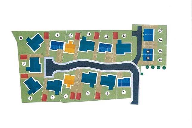Site Plan of Bancyfelin, Carmarthen, Carmarthenshire. SA33