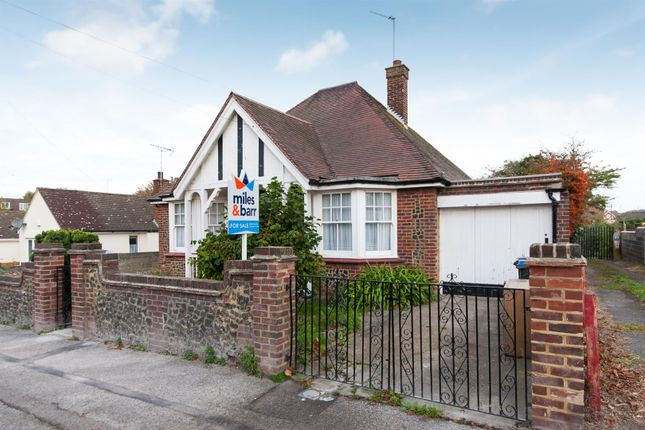 Thumbnail Detached bungalow for sale in Elm Grove, Westgate-On-Sea