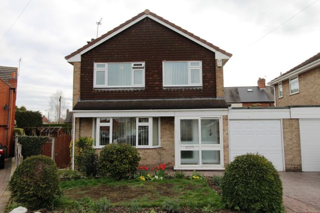Thumbnail Detached house for sale in Mercia Drive, Willington, Derby