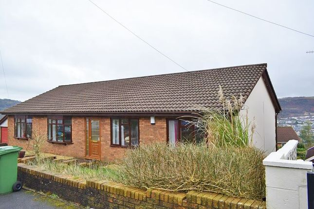 Thumbnail Detached house for sale in Hillside View, Pontypridd