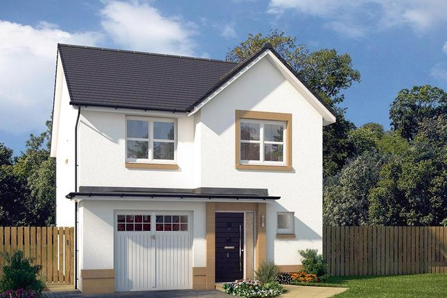 "Thumbnail Detached house for sale in ""The Ashbury"" at Edinburgh Road, Newhouse, Motherwell"