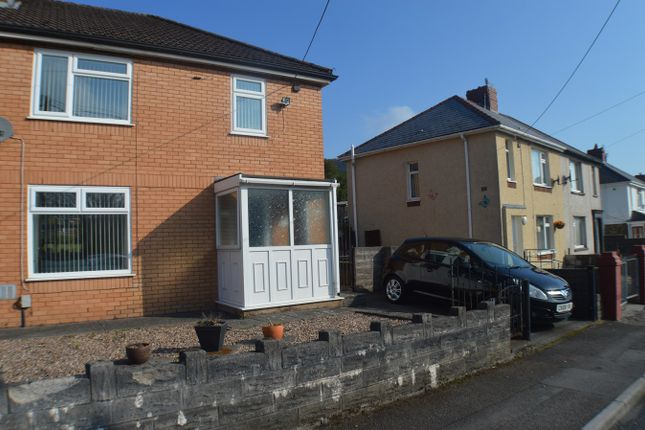 Thumbnail Semi-detached house for sale in Brynglas Avenue, Cwmavon, Port Talbot