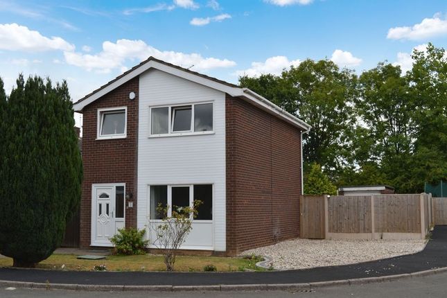 Thumbnail Detached house for sale in Claverley Drive, Stirchley, Telford, Shropshire.